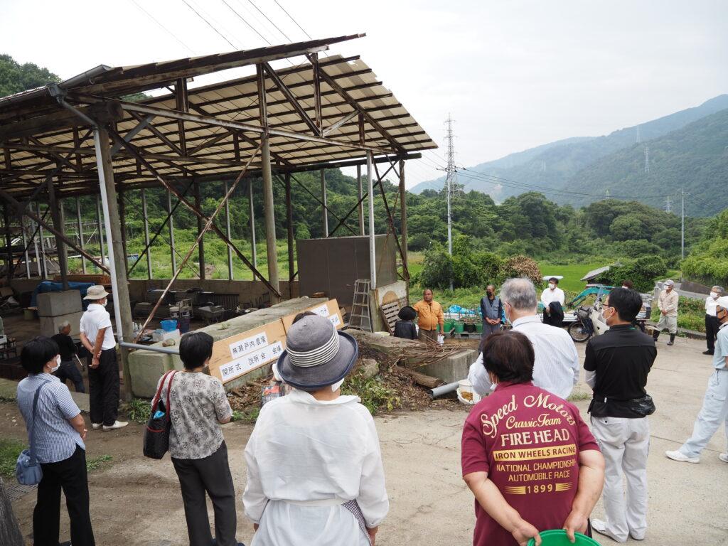 山仙プール式炭化平炉 呉開所式