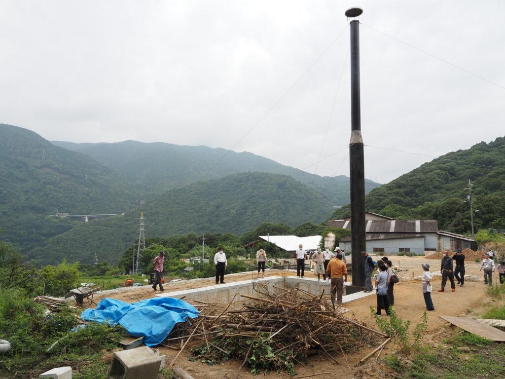 山仙プール式炭化平炉