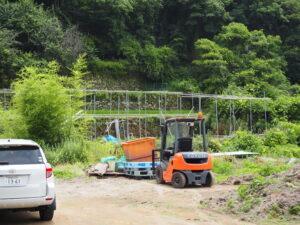 コーヒー豆栽培ハウス